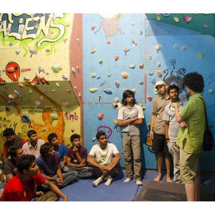 Climbing Workshop at Rock Aliens Gym