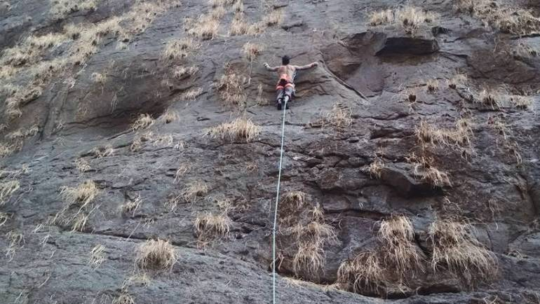 Rock Climbing in Khopoli