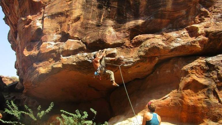 Rock Climbing in Tamhini